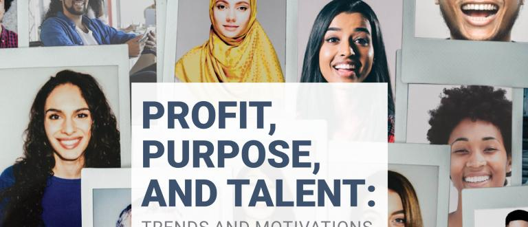 Profit, Purpose, And Talent - The 2019 community investment report from Imagine Canada