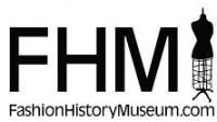 Fashion history museum logo