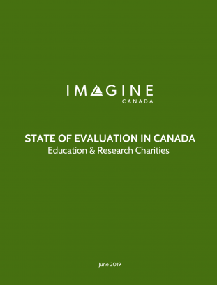 State of Evaluation in Canada: education and research charities